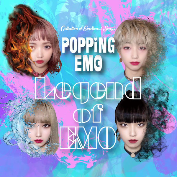 POPPiNG EMO『LEGEND OF EMO』CD