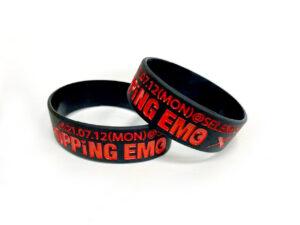 ラバーバンド(POPPiNG EMO / SHOCKiNG EGO)ブラック