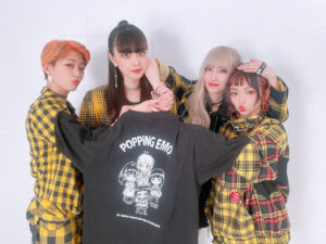 POPPiNG EMO Tシャツ 背面